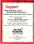 On the Border flyer